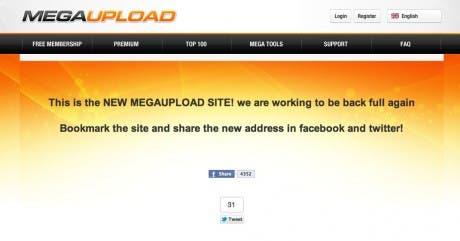 ¡Cuidado! Aparece un posible falso Megaupload