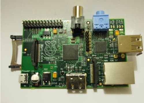 Raspberry Pi Model B beta board - #10 of a limited series of 10