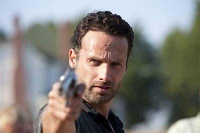 Rick con una pistola