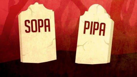 SOPA y PIPA aplazadas indefinidamente