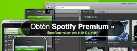 Acceso a Spotify Premium