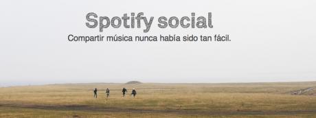 Aspecto social de Spotify