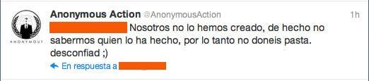 Advertencia de Anonymous
