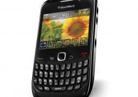 Fotografía de un smartphone BlackBerry 8520