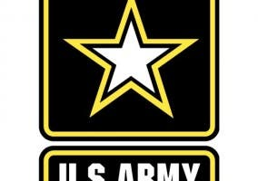 Imagen que muestra el emblema de ejército de los Estados Unidos de América