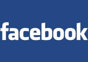 Imagen donde se muestra el logo de Facebook