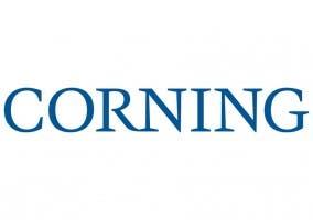 Imagen que muestra el logo de la empresa Corning