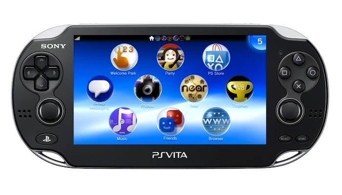 Fotografía de la consola portátil PS Vita de Sony