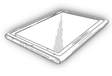 Un boceto de la posible tableta de Nokia