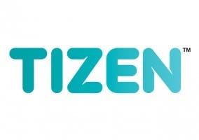 Imagen que muestra el logo del sistema operativo móvil Tizen