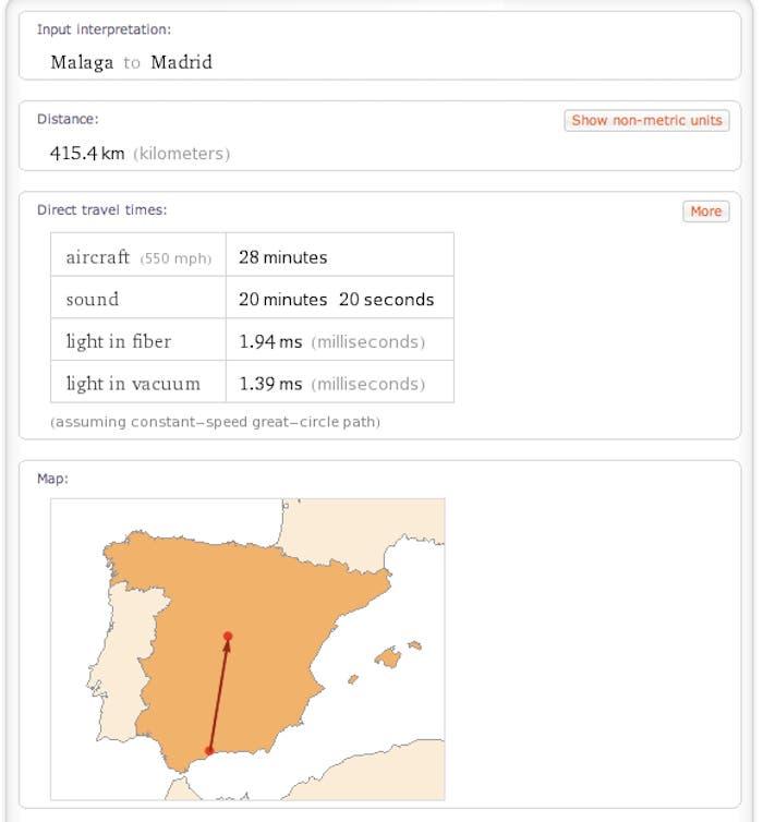 Málaga-Madrid