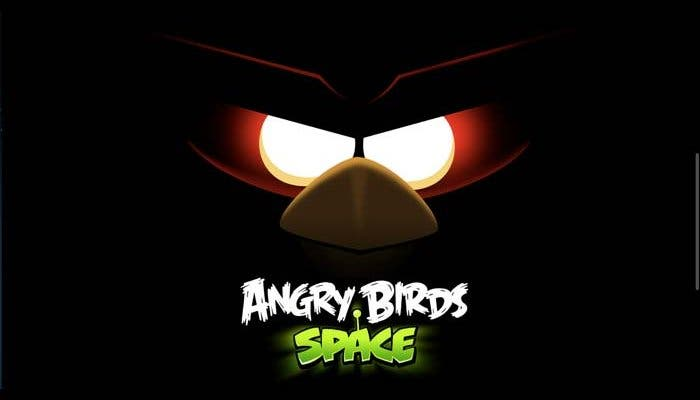 Imagen promocional de Angry Birds Space