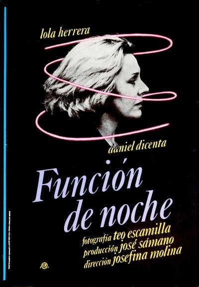 Función de Noche de Josefina Molina
