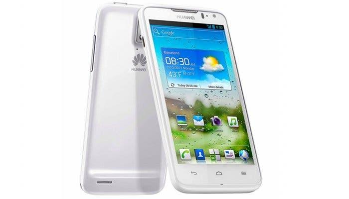 Fotografía del teléfono móvil Huawei Ascend D Quad