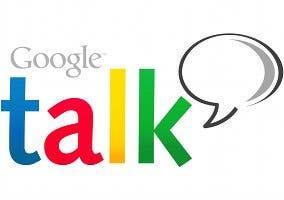 Logo del cliente de mensajería instantánea Google Talk