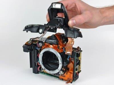 Interior de una cámara Nikon