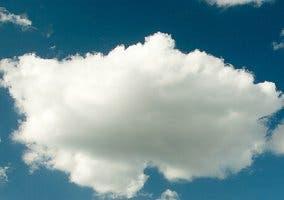 Fotografía de una nube