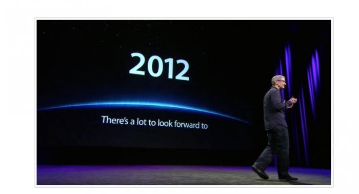 Cambios de Apple en 2012