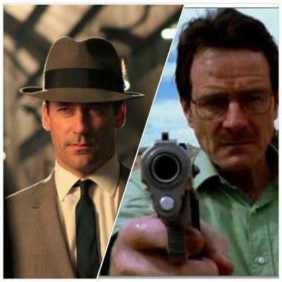 Dos series de culto: Breaking Bad o Mad Men, cinco parecidos y cinco diferencias