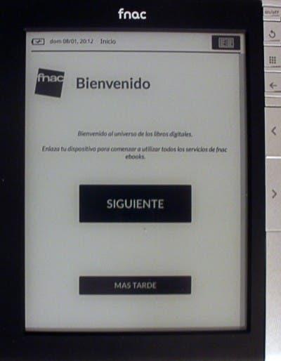Fnac eBook dando la bienvenida a sus nuevos usuarios