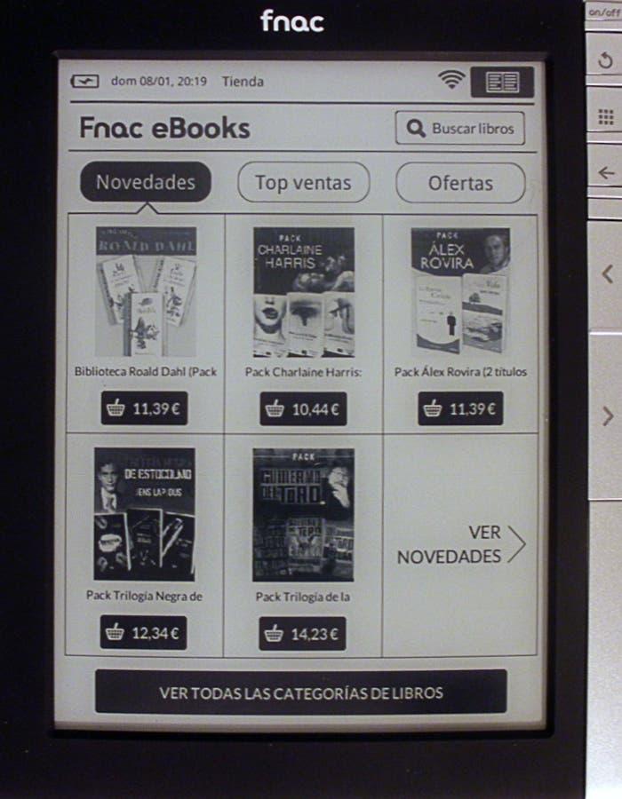 Tienda de libros del eBook de Fnac
