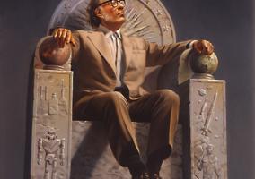 Isaac Asimov trono