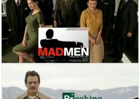 Comparativa Mad Men Breaking Bad