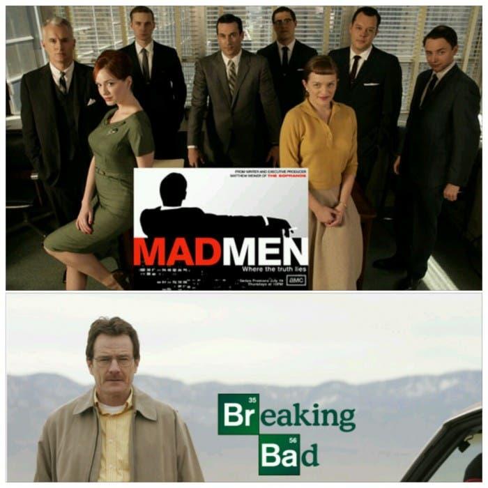 Comparativa Mad Men Breaking Bad