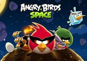 Imagen de los pájaros protagonistas de Angry Birds Space