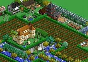 Captura del juego FarmVille de Zynga