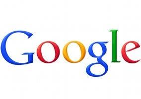 Logo de Google, la célebre empresa de Internet