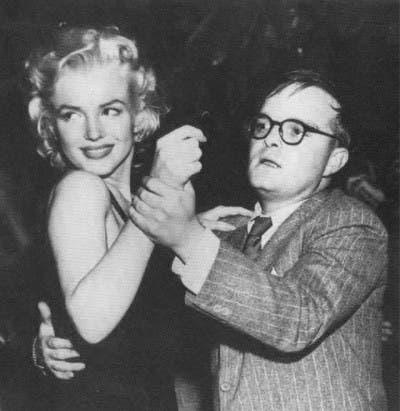 Marilyn Monroe y Truman Capote
