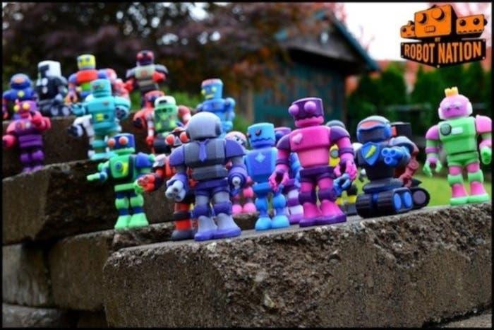 Ejemplos de robots de My Robot Nation