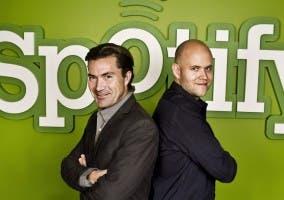 Daniel Ek y Martin Lorentzon, fundadores de Spotify