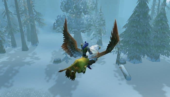 Captura de pantalla del juego World of Warcraft