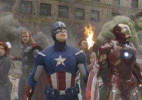 Los Vengadores, Thor, Iron Man, el Capitán América, Hulk, Ojo de halcón y la Viuda Negra