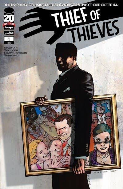 Así es Thief of Thieves, el cómic de Robert Kirkman que adaptará AMC