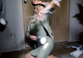 Fotograma de la película de Alfred Hichcock Los Pajaros