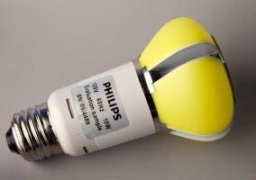 Prototipo de la nueva bombilla presentada por Philips