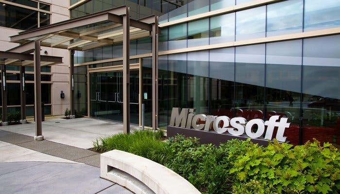 Edificio del campus de Microsoft