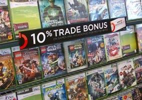 Fotografía de una estantería ocupada por videojuegos