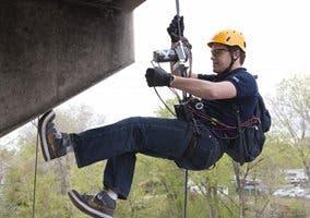 Imagen del artefacto de escalada de la Brigham Young University