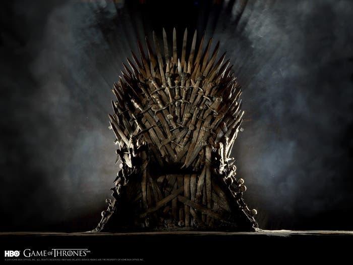 Juego de Tronos Trono de hierro