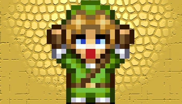 Imagen de Link en Zelda: The Musical