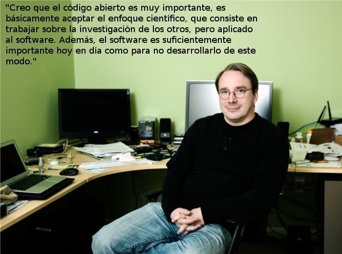La filosofía del trabajo de Linus Torvalds