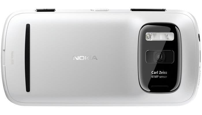 Fotografía de un Nokia 808 PureView