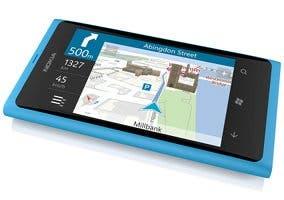 Fotografía de un Nokia Lumia 800