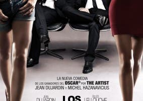 Una de las versiones del poster de la película de Los Infieles