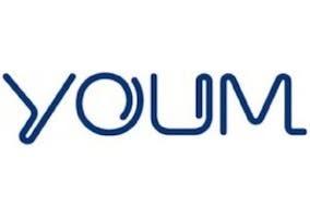 Logo de las pantallas YOUM creadas por Samsung