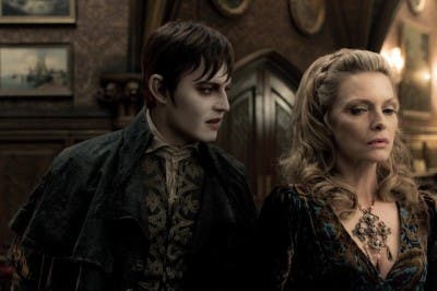 Sombras tenebrosas Michelle Pfeiffer Johnny Depp